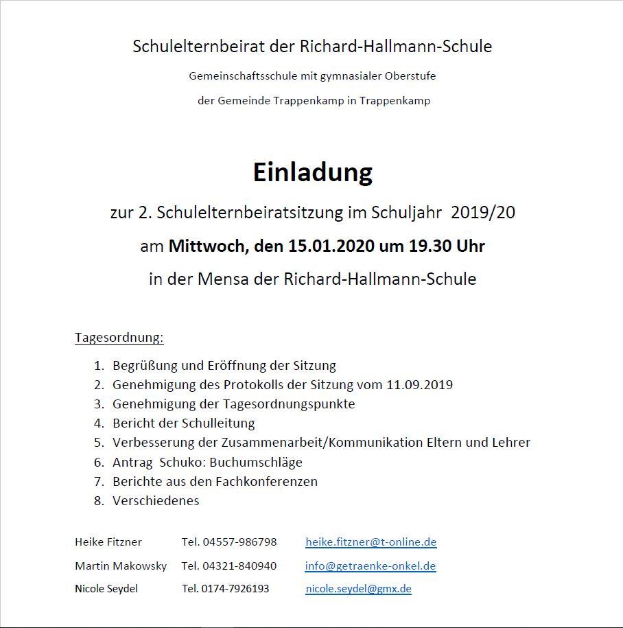 EInladung SEB 1-2020