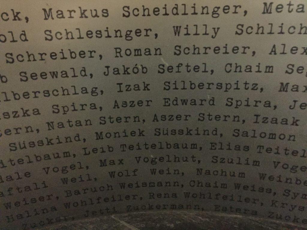 Besuch der Emailliefabrik von Oskar Schindler.
